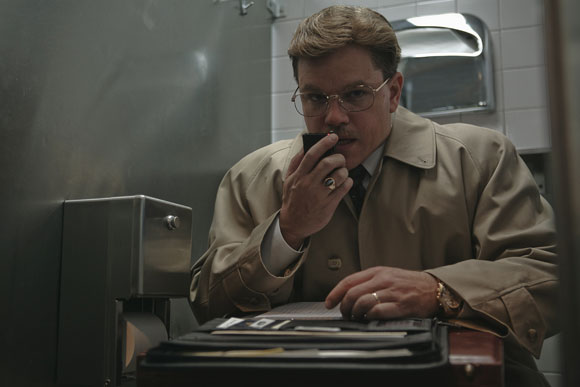 MATT DAMON stars as Mark Whitacre in Warner Bros. Pictures', Participant Media's and Groundswell Productions' comedy, THE INFORMANT!, a Warner Bros. Pictures release. Photo by Claudette Barius