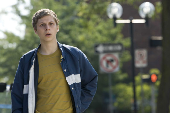 Michael Cera stars in YOUTH IN REVOLT, directed by Miguel Arteta.  Photo by: Bruce Birmelin / Dimension Films, 2009